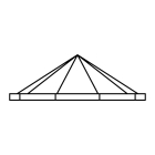 Pyramid skylights